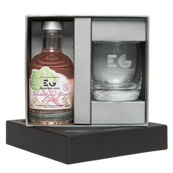 Edinburgh Rhubarb and Ginger Gin Gift Set