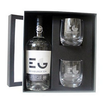 Edinburgh Gin and Glasses Gift Set