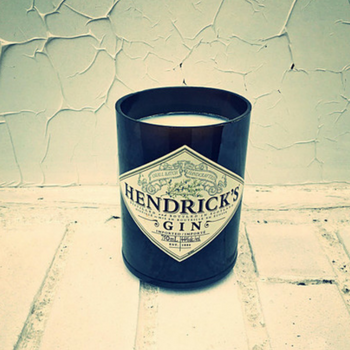 Hendrick's Bottle Candle