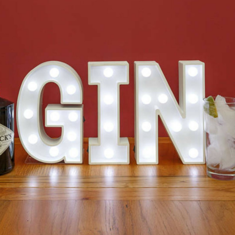 Gin Light Sign