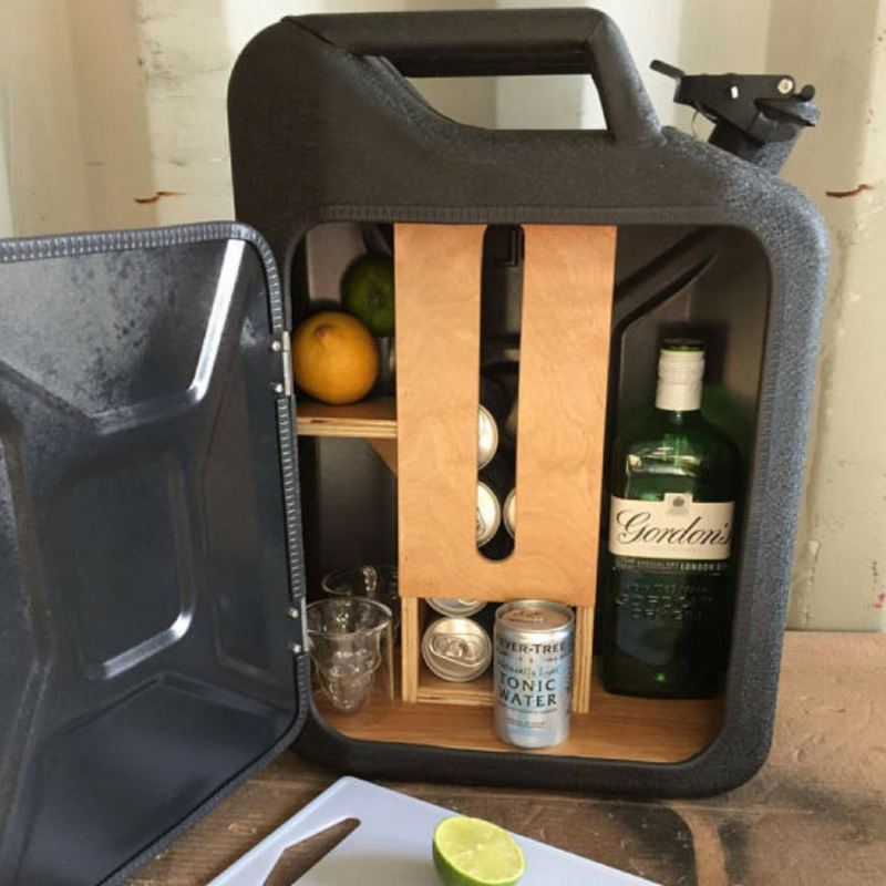 Jerry Can Mini Gin Bar